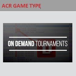 Americas Cardroom On Demand Tournaments